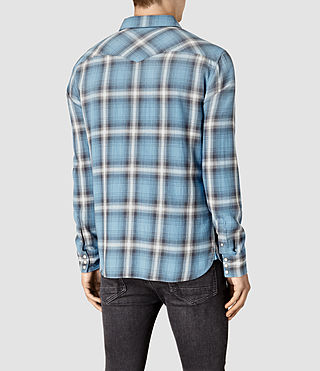 Hommes Bridger Shirt (Blue) - product_image_alt_text_4
