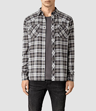 Mens Colville Shirt (Black) - product_image_alt_text_1