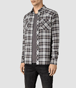Mens Colville Shirt (Black) - product_image_alt_text_2