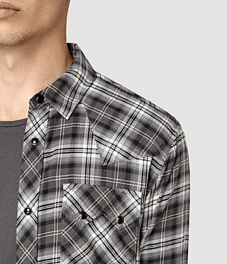 Mens Colville Shirt (Black) - product_image_alt_text_3