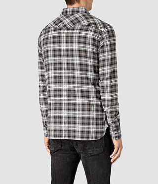 Mens Colville Shirt (Black) - product_image_alt_text_4
