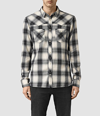 Uomo Washita Shirt (Black) -