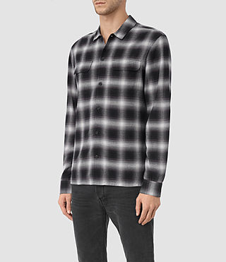 Mens Sondhein Shirt (Black) - product_image_alt_text_2