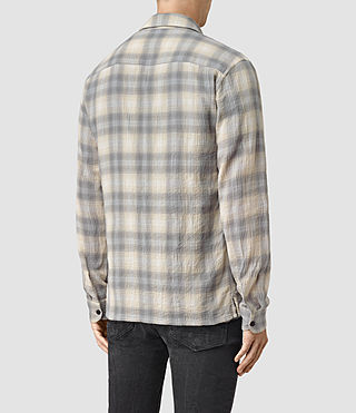 Mens Halleck Shirt (Light Grey) - product_image_alt_text_4