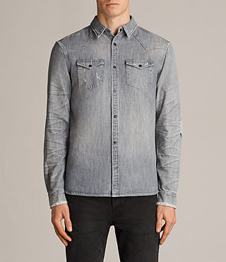 gikeoa denim shirt
