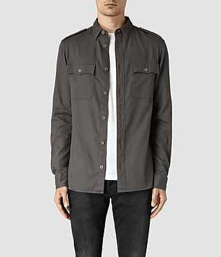 Hommes Contractor Shirt (Cadet Green)