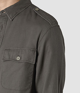 Uomo Contractor Shirt (Cadet Green) - product_image_alt_text_2