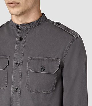 Hommes Privateer Shirt (Washed Black) - product_image_alt_text_2