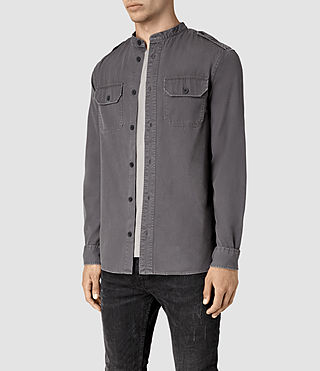 Hommes Privateer Shirt (Washed Black) - product_image_alt_text_3