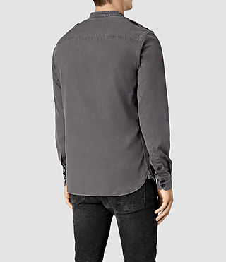Hommes Privateer Shirt (Washed Black) - product_image_alt_text_4