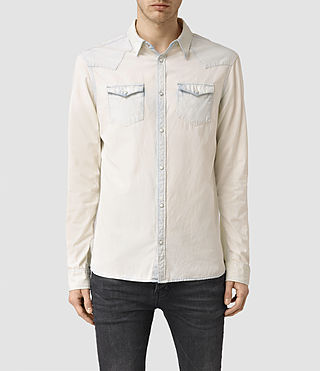 Hommes Plasted Shirt (Quartz)