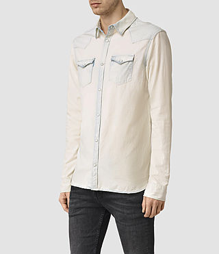 Hombre Plasted Shirt (Quartz) - product_image_alt_text_3