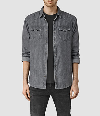 Mens Contam Shirt (Grey) - product_image_alt_text_1