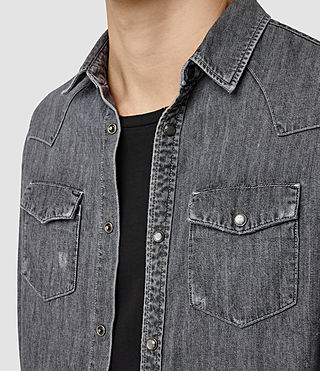 Hombres Contam Shirt (Grey) - product_image_alt_text_2