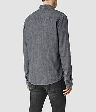 Men's Contam Shirt (Grey) - product_image_alt_text_4