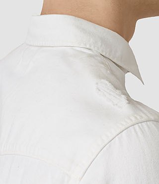 Hombre Gered Shirt (White) - product_image_alt_text_2