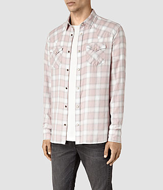 Hommes Lamona Shirt (Sphinx Pink) - product_image_alt_text_4