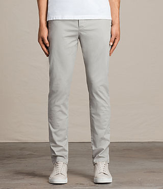 Mens Park Chino (Ice Blue) - Image 1