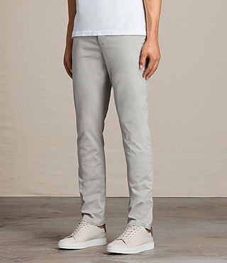 Mens Park Chino (Ice Blue) - Image 3