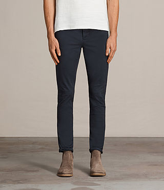 Men's Park Chino (Airforce Blue) - Image 1
