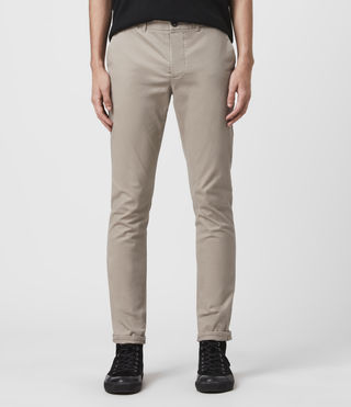Mens Park Chino (Sand) - product_image_alt_text_1