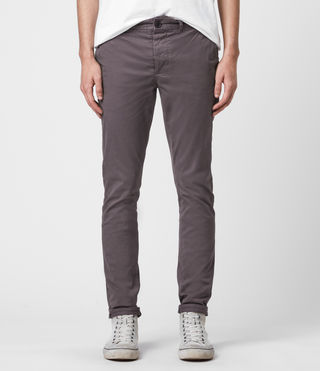 Mens Park Chino (Slate Grey) - Image 1