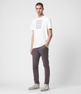 Mens Park Chino (Slate Grey) - Image 3