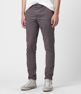 Mens Park Chino (Slate Grey) - Image 4