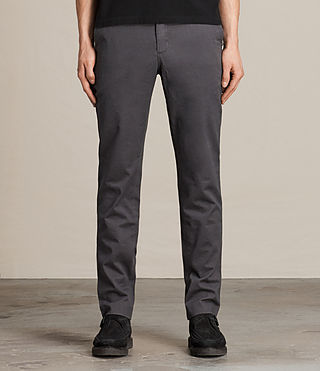 Mens Park Chino (Petrol Blue) - product_image_alt_text_1