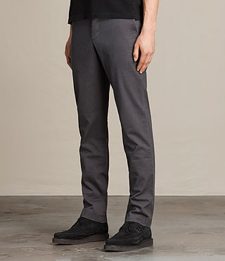 Mens Park Chino (Petrol Blue) - product_image_alt_text_2