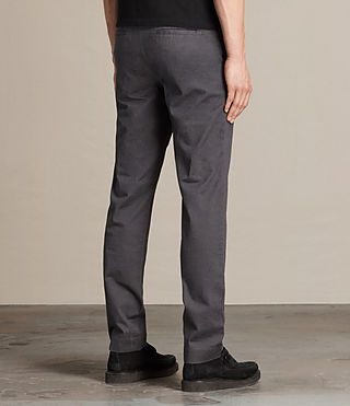 Mens Park Chino (Petrol Blue) - product_image_alt_text_4