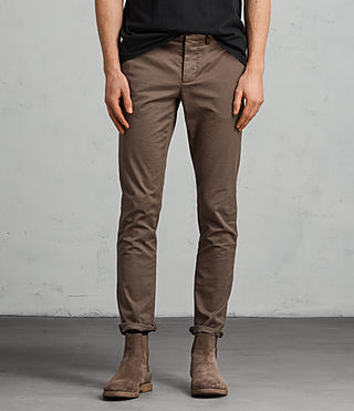 Herren Park Chino (Military Green) - Image 1