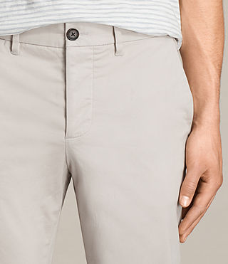 Hombres Pantalones chinos Park (OAT GREY) - product_image_alt_text_2