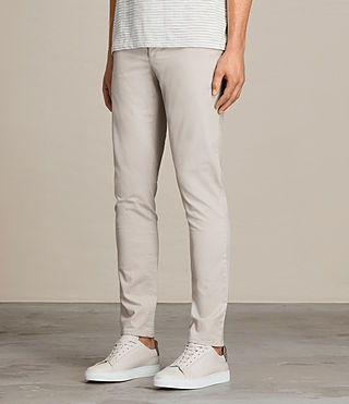 Hombres Pantalones chinos Park (OAT GREY) - product_image_alt_text_3