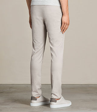 Hombres Pantalones chinos Park (OAT GREY) - product_image_alt_text_4