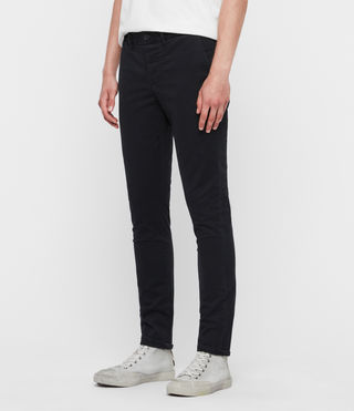 Mens Park Chino (Black) - Image 2