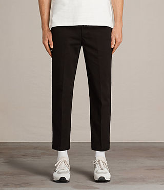 Uomo Pantaloni Carpenter Chino (Black) - Image 1