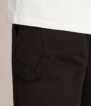 Uomo Pantaloni Carpenter Chino (Black) - product_image_alt_text_2