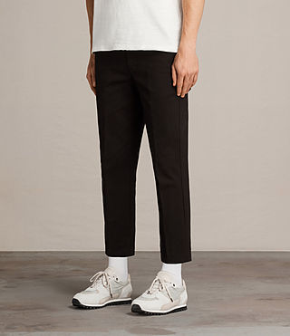 Uomo Pantaloni Carpenter Chino (Black) - Image 3