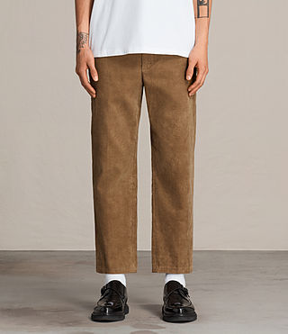 Men's Templin Trouser (Tan) - Image 1