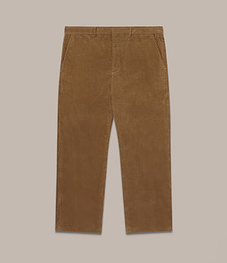 Hommes Pantalon Templin (Tan) - product_image_alt_text_2
