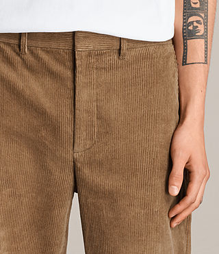 Hommes Pantalon Templin (Tan) - product_image_alt_text_3