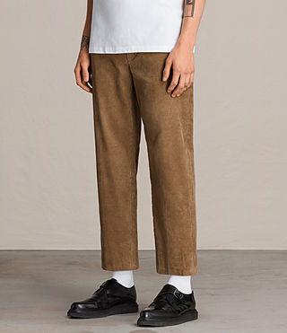 Hommes Pantalon Templin (Tan) - product_image_alt_text_4
