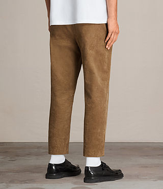 Hommes Pantalon Templin (Tan) - product_image_alt_text_5