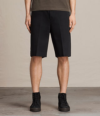 Mens Erwin Shorts (Black) - product_image_alt_text_1