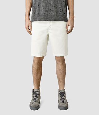 Mens Mitre Armstrong Shorts (Vintage White)