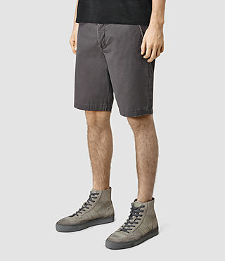 Mens Mitre Armstrong Shorts (Slate Grey) - product_image_alt_text_2