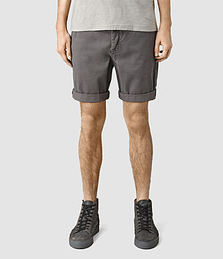 Mens Mitre Lumen Shorts (Slate Grey)