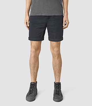 Mens Mitre Lumen Shorts (INK NAVY) - product_image_alt_text_1