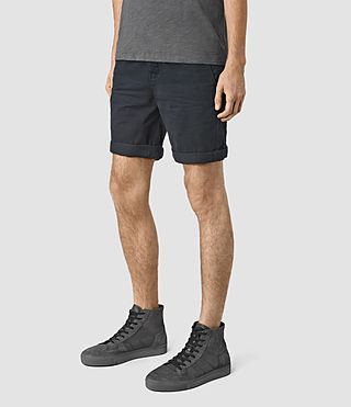 Mens Mitre Lumen Shorts (INK NAVY) - product_image_alt_text_2